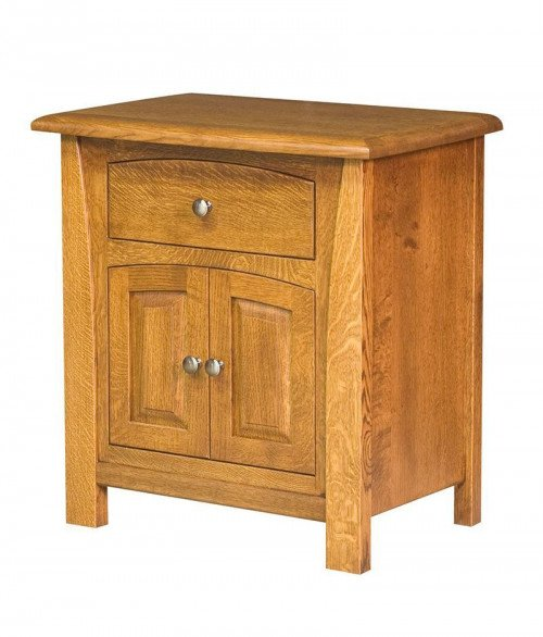 Mondovi 1 Drawer 2 Door Night Stand