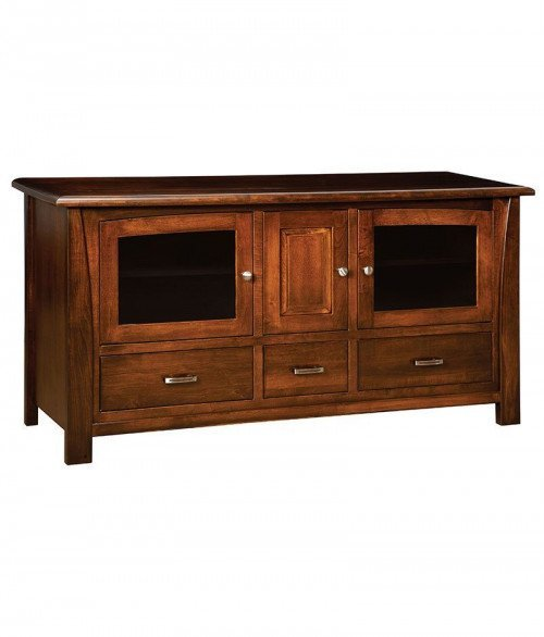 Mondovi Plasma TV Stand 3 Drawer 3 Door