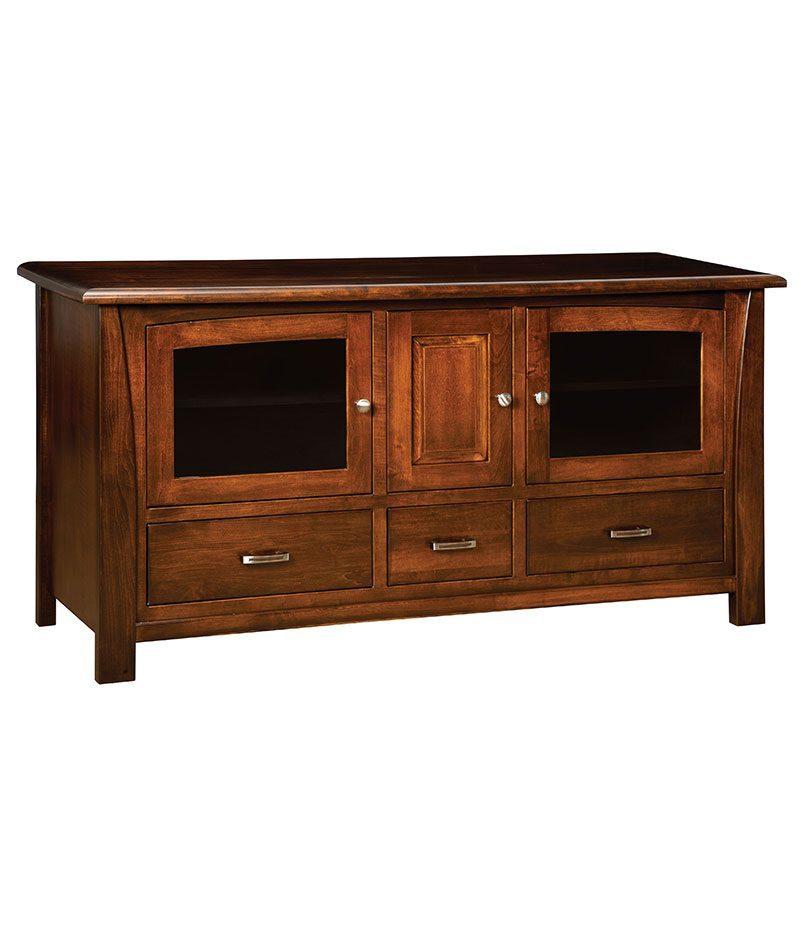 Mondovi Plasma TV Stand 3 Drawer 3 Door