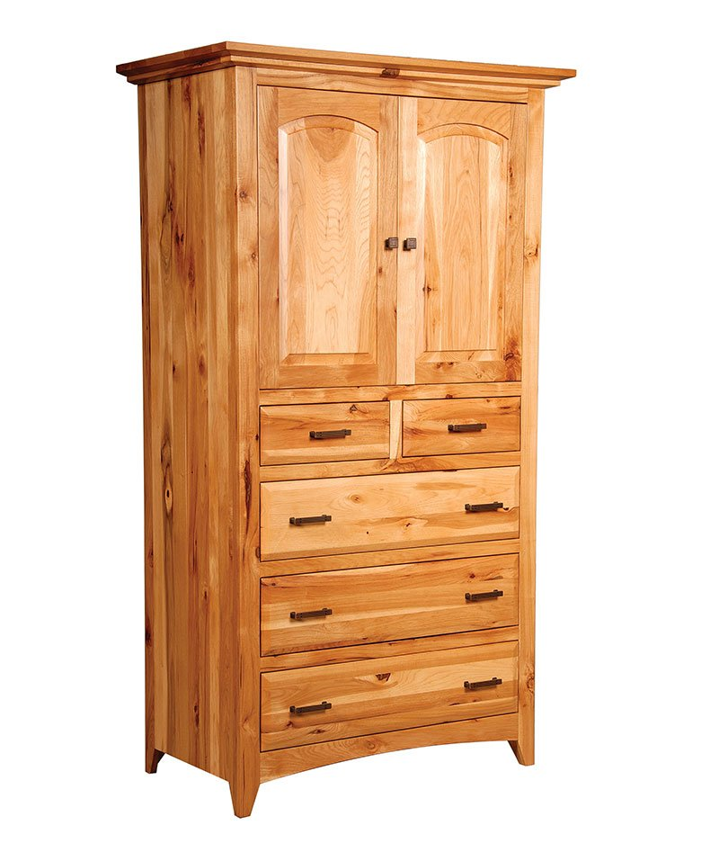 Premier Shaker 5 Drawer 2 Door Armoire