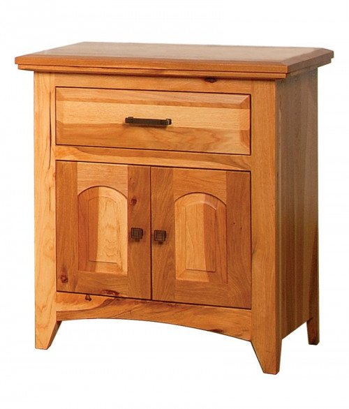 Premier Shaker 1 Drawer 2 Door Night Stand