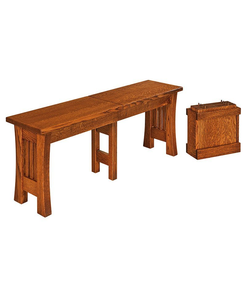 Arts & Crafts Dining Bench