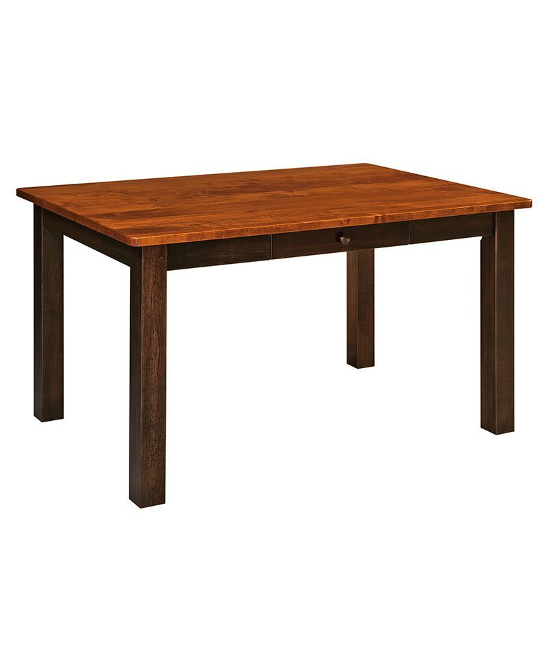 Asheville Leg Table Amish Leg Tables Deutsch Furniture Haus