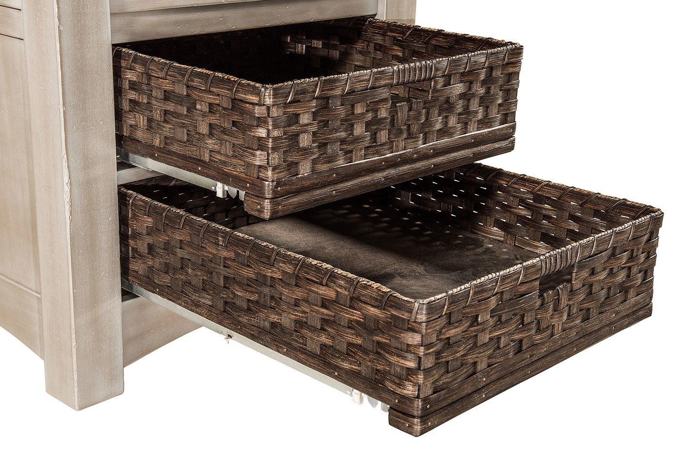 Heidi Cabinet Table Basket-Detail