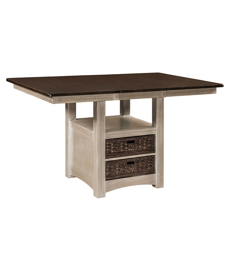 Heidi Cabinet Table with Leaf