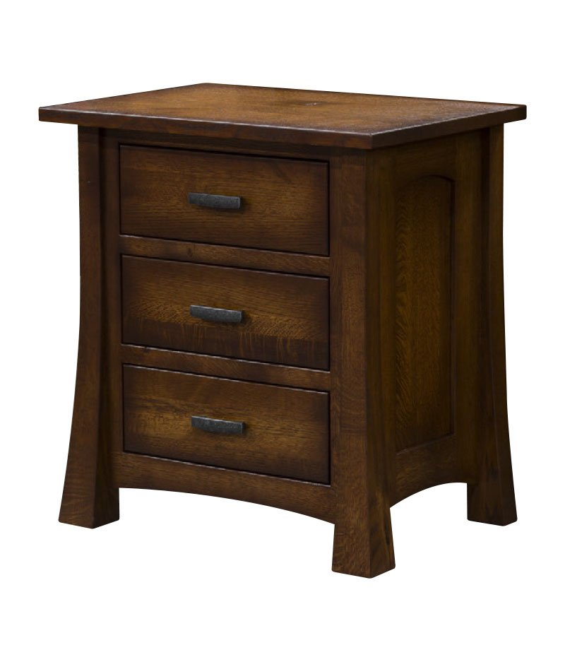 Princeton 3 Drawer Night Stand