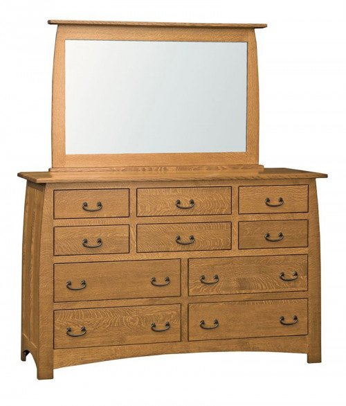 Superior Shaker 10 Drawer Dresser