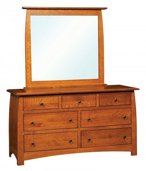 Superior Shaker 7 Drawer Dresser