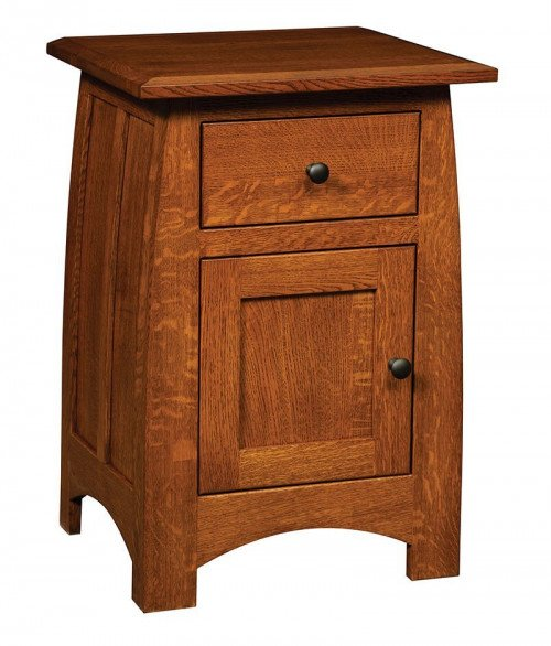 Superior Shaker 1 Drawer 1 Door Nighstand