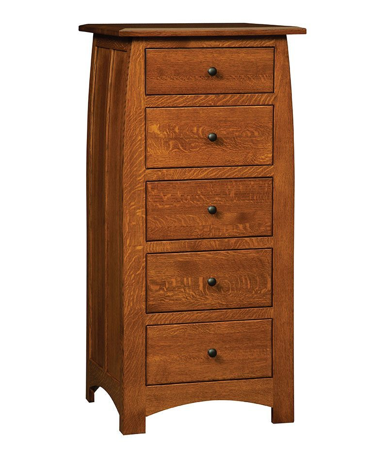 Superior Shaker 5 Drawer Lingerie Chest
