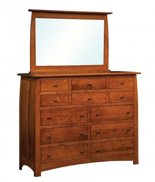 Superior Shaker 12 Drawer Dresser