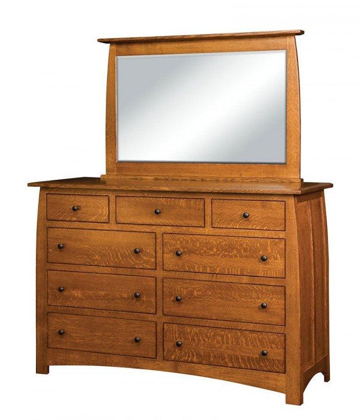 Superior Shaker 9 Drawer Dresser