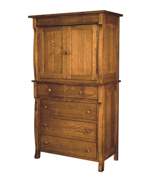 Wellington 2 Door 5 Drawer Armoire