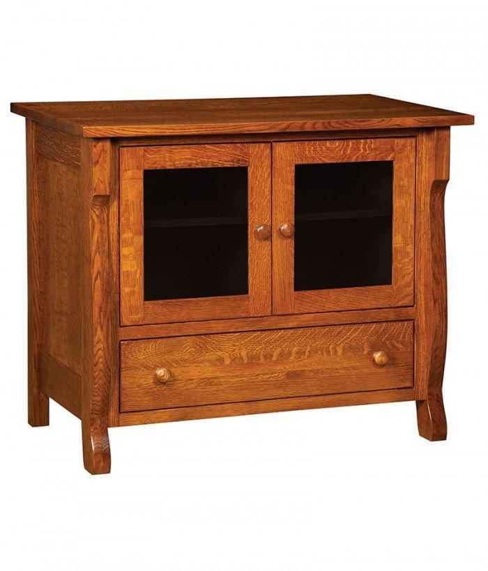 Wellington Plasma TV Stand 1 Drawer 2 Door