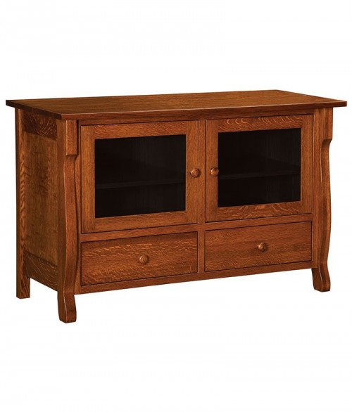 Wellington Plasma TV Stand 2 Drawer 2 Door
