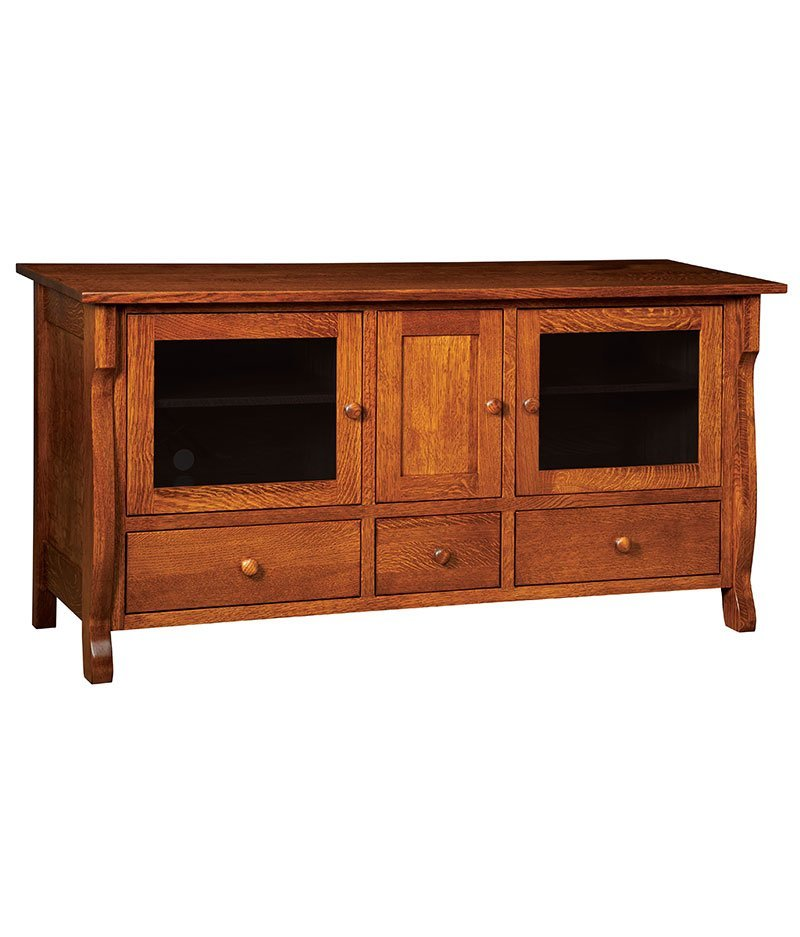 Wellington Plasma TV Stand 3 Drawer 3 Door