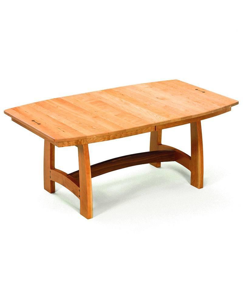 Cameron Trestle Table Deutsch Furniture Haus
