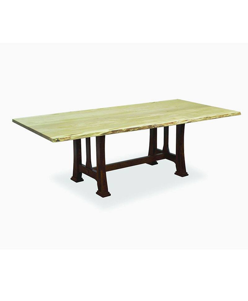 Custer With Live Edge Amish Live Edge Tables Deutsch