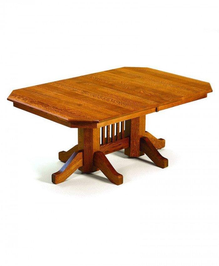 Hudson Double Pedestal Table