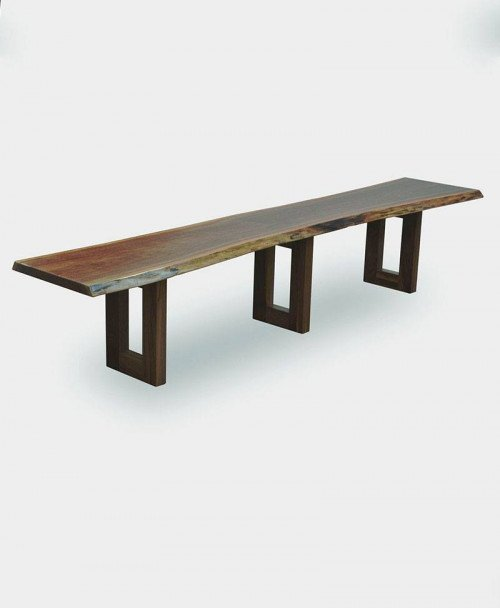 Kalispel Live Edge Bench