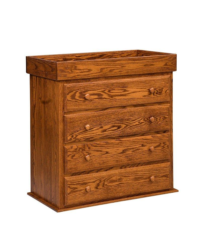 Mission 4 Drawer Reversible Dresser