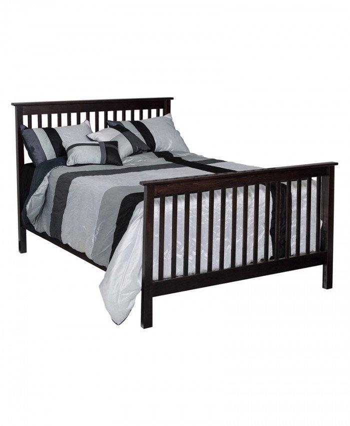Economy Full Size Slat Bed