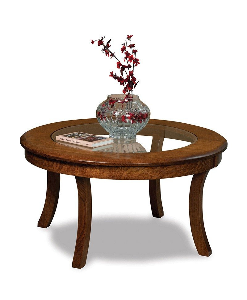 Sierra Glass-top Coffee table