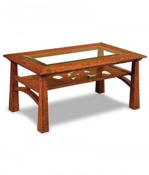 Artesa Glass Top Coffee Table