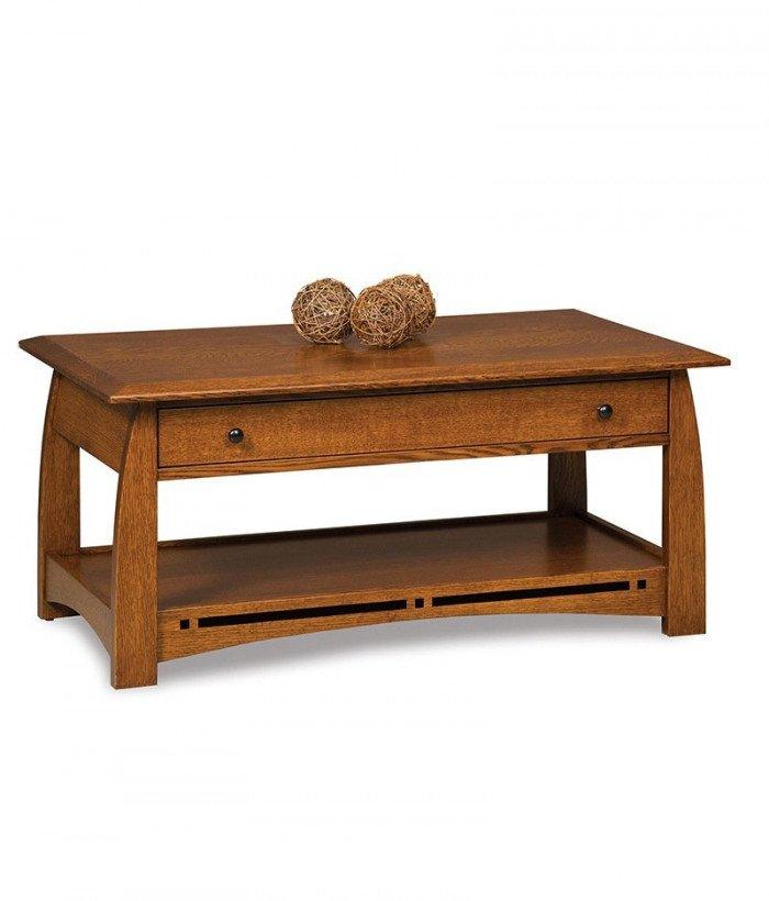 Boulder Creek Coffee table w/drawer