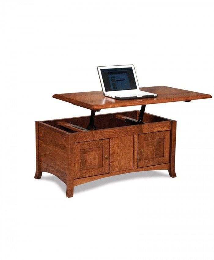 Carlisle Enclosed Lift-top Coffee table