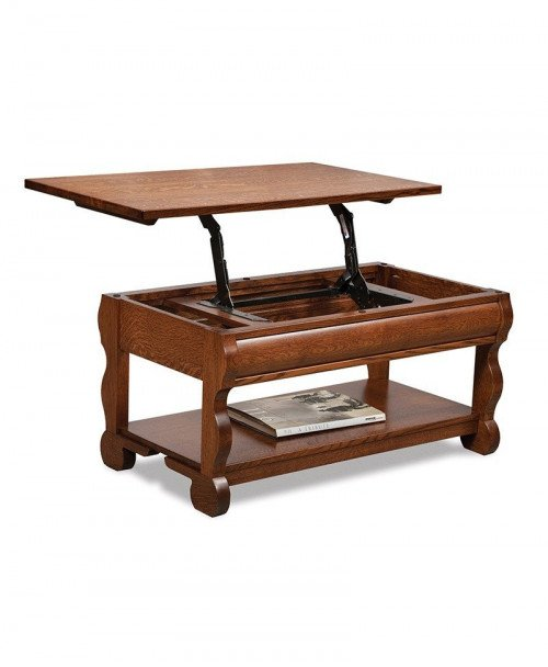 Old Classic Sleigh Lift-top Coffee table