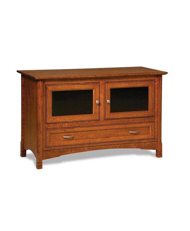 West Lake 2 door, 1 drawer LCD stand