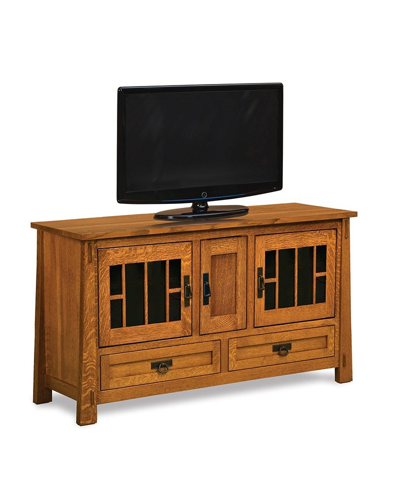 "Modesto 36"" high, 3 door, 2 drawer LCD stand"