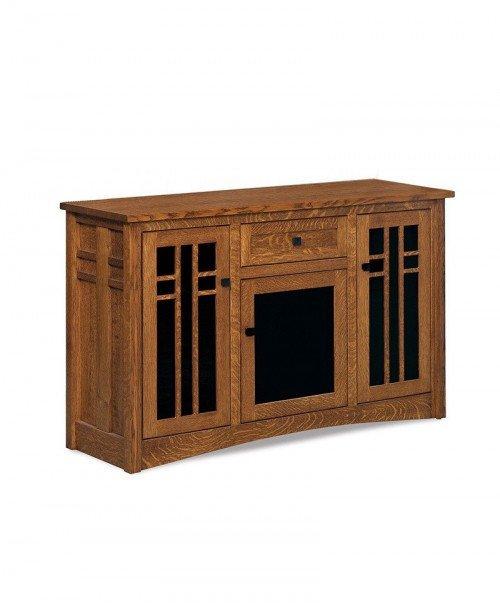 Kascade 3 door, 1 drawer High LCD console