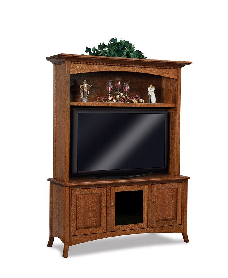 Carlisle 3 door, 2 pc. LCD cabinet