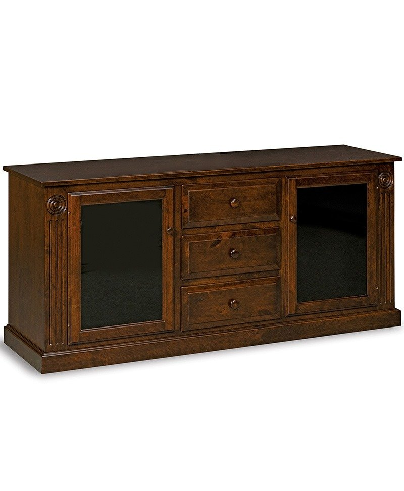 Victorian 2 door, 3 drawer LCD stand
