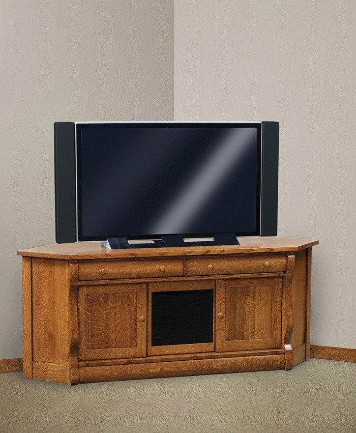 Old Classic Sleigh Corner Media Console