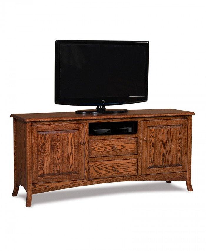 Carlisle 2 door, 2 drawer LCD stand