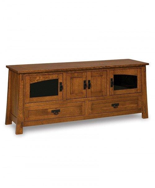 Modesto 4 door, 2 drawer LCD stand