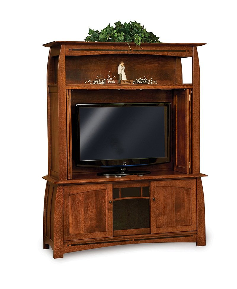 Boulder Creek 3 door, 2 pc LCD cabinet -OPEN