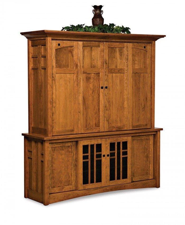 Kascade 4 door, 2 pc LCD cabinet