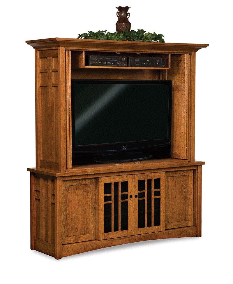 Kascade 4 door, 2 pc LCD cabinet-OPEN