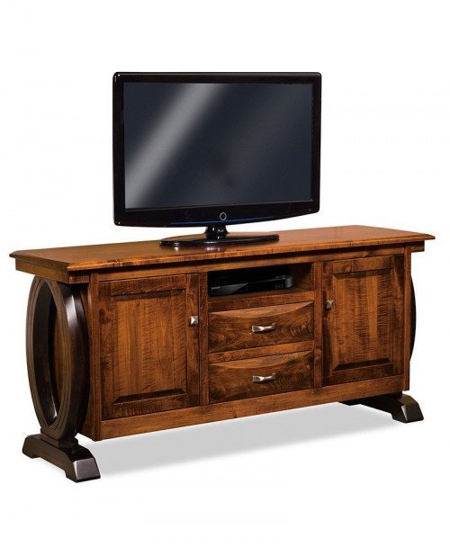 Saratoga 2 door, 2 drawer LCD stand