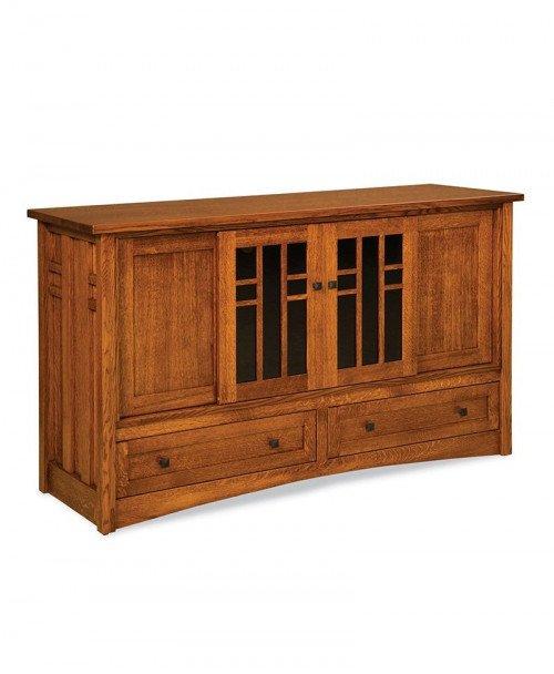 Kascade 36 high, 3 door, 2 drawer LCD stand