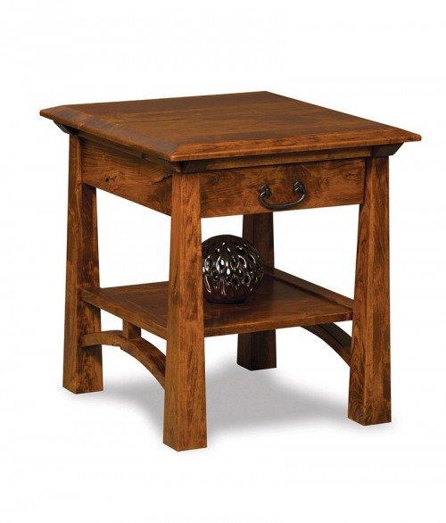 Artesa End table w/drawer
