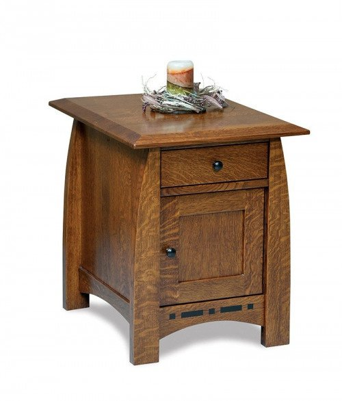Boulder Creek Enclosed End table