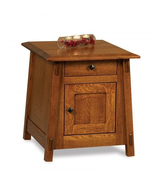 Colbran Enclosed End table