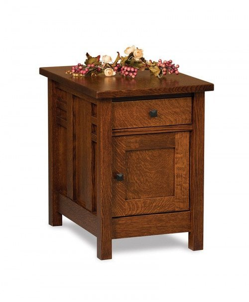 Kascade Enclosed End Table