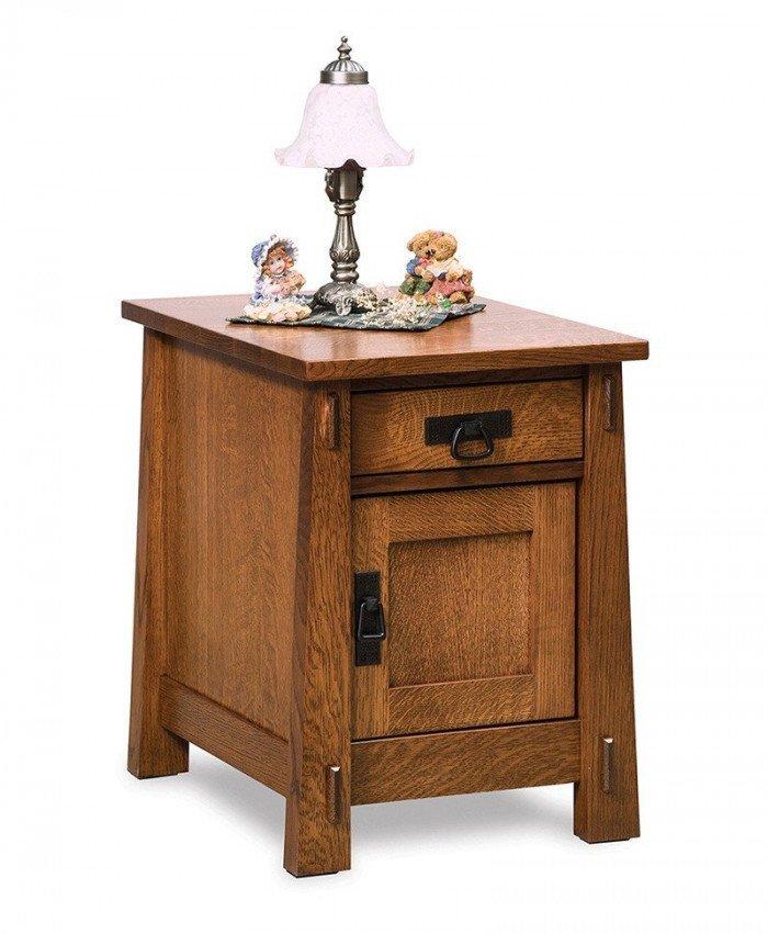 Modesto Enclosed End table