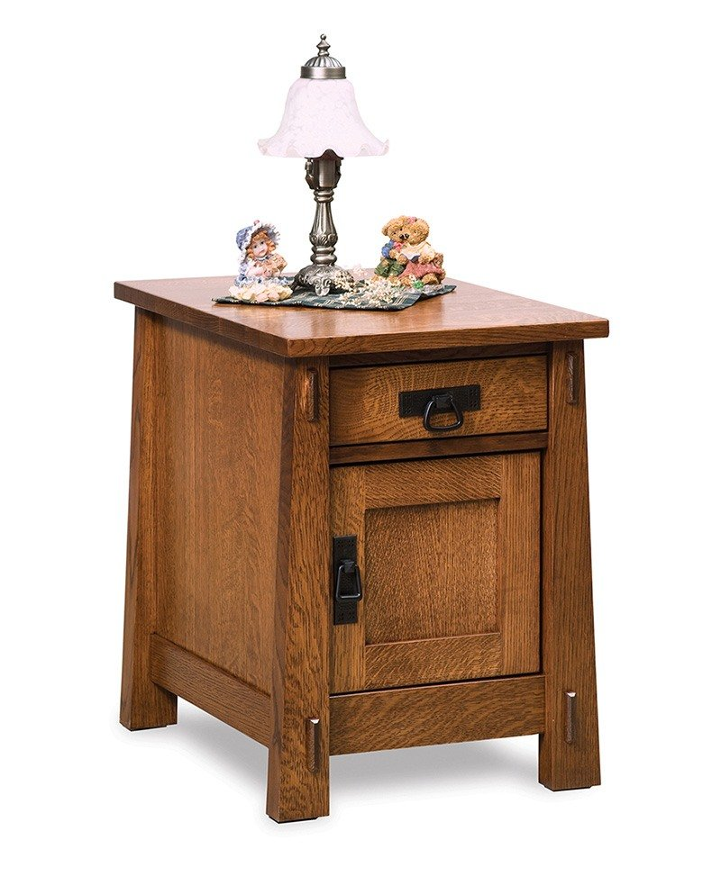 Modesto Enclosed End table